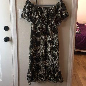 LuLaRoe Olive Paisley Cici Dress